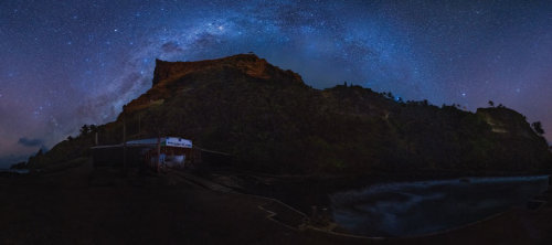 Pitcairn Night Sky